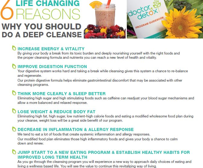 6 Life Changing Reasons You Should Do A Cleanse